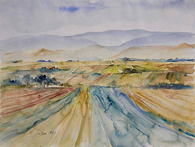 Painting - Watercolor Series 88 by Ingrid Dohm