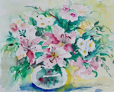Painting - Watercolor Series 90 by Ingrid Dohm