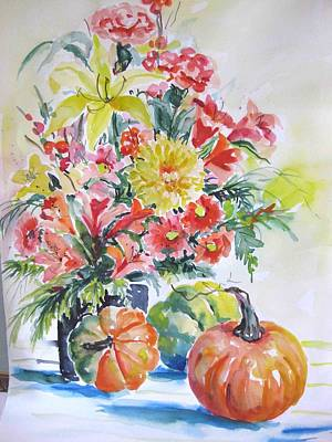 Painting - Watercolor Series 92 by Ingrid Dohm