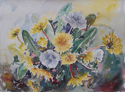 Painting - Watercolor Series 93 by Ingrid Dohm