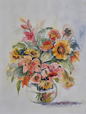 Painting - Watercolor Series 94 by Ingrid Dohm
