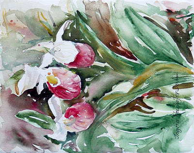 Painting - Watercolor Series 95 by Ingrid Dohm