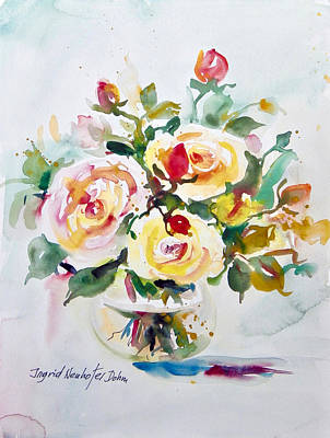 Painting - Watercolor Series 96 by Ingrid Dohm