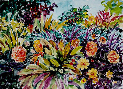 Painting - Watercolor Series 97 by Ingrid Dohm