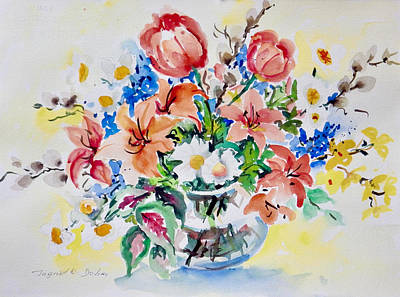 Painting - Watercolor Series 98 by Ingrid Dohm