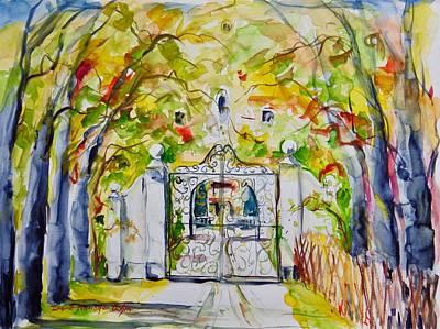 Painting - Watercolor Series N0. 257 by Ingrid Dohm
