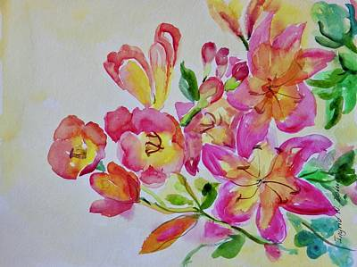 Painting - Watercolor Series No. 225 by Ingrid Dohm