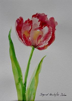 Watercolor Series No.  228 Art Print