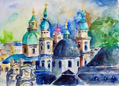 Watercolor Series No. 247 Art Print