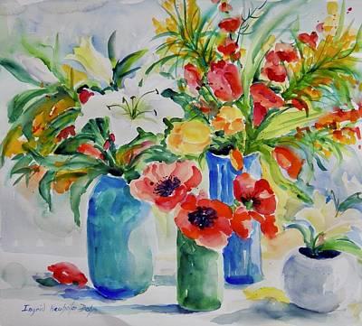 Watercolor Series No. 256 Art Print