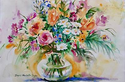 Painting - Watercolor Series No. 266 by Ingrid Dohm