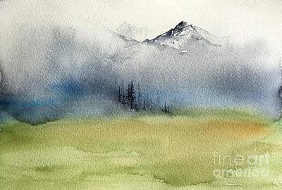 Painting - Watercolor Sketch 2 by Carolyn Doe