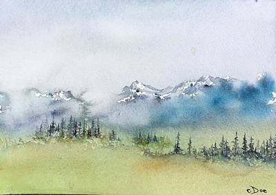 Painting - Watercolor Sketch 3 by Carolyn Doe