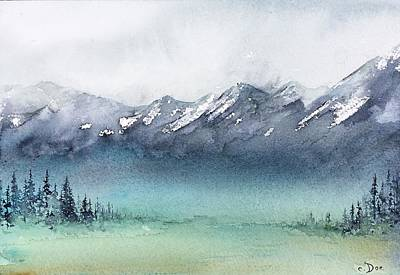 Painting - Watercolor Sketch 4 by Carolyn Doe