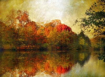 Watercolor Sunset Art Print by Jessica Jenney