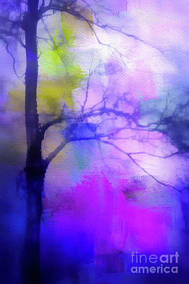 Photograph - Watercolor Tree by Judi Bagwell