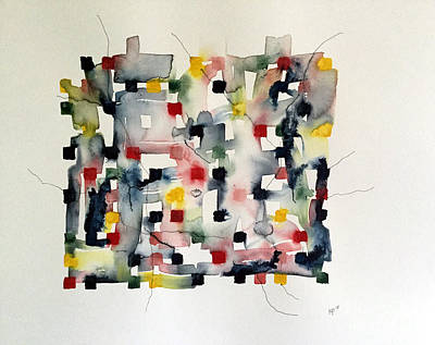 Mixed Media - Watercolor V by Mark Palmer