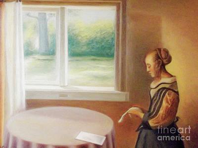 Digital Art - Watercolor Vermeer 14 08 2015 by Algirdas Lukas