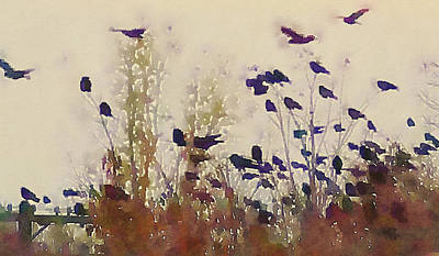 Photograph - Watercolor Wings by Susan Maxwell Schmidt