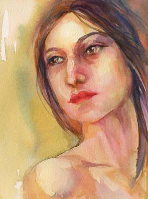 Watercolor Woman Original