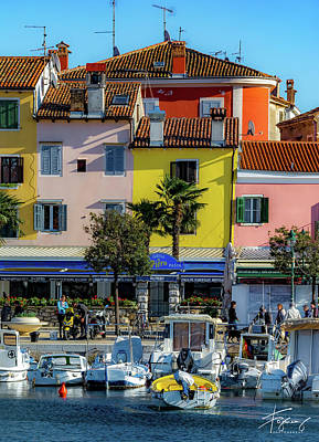 Photograph - Watercolors In Split by Francisco Gomez