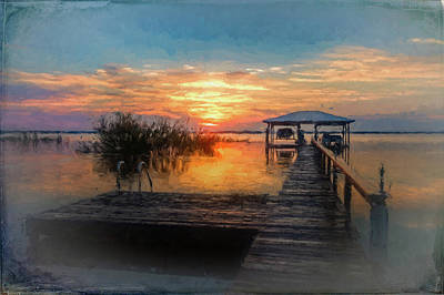 Photograph - Watercolors In The Morning Light by Debra and Dave Vanderlaan
