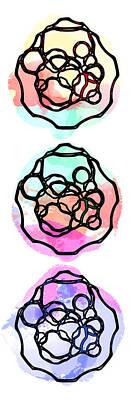 Digital Art - Watercolour Abstract Pop by Keshava Shukla
