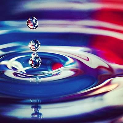 Image Photograph - C'est La Vie Or Go With The Flow by Jeff Foliage