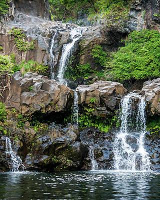 Photograph - Waterfall Series by Daniel Murphy