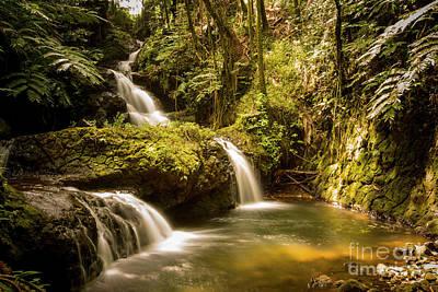 Photograph - Waterfall 1 by Daniel Knighton