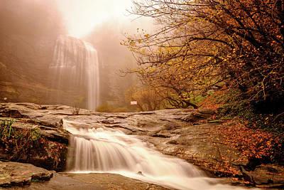 Photograph - Waterfall-11 by Okan YILMAZ