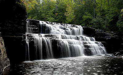 Waterfall 3 Art Print