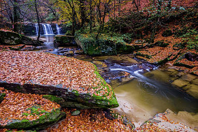 Photograph - Waterfall-3 by Okan YILMAZ