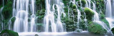 Waterfall Akita Japan Art Print by Panoramic Images