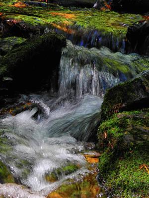 Photograph - Waterfall Along Pa At by Raymond Salani III