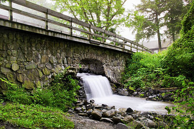 Photograph - Waterfall At Cv State Park by Christina Rollo