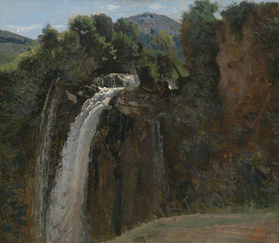 Painting - Waterfall At Terni by Jean-Baptiste-Camille Corot