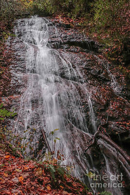 Photograph - Waterfall Base by Tom Claud