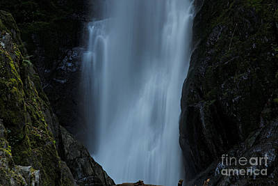 Photograph - Waterfall by Cendrine Marrouat