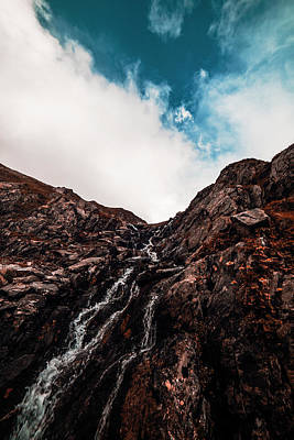 Photograph - Waterfall by Chris Thodd
