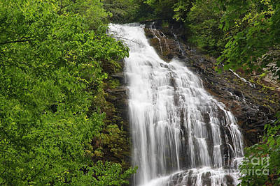 Photograph - Waterfall Closeup by Jill Lang