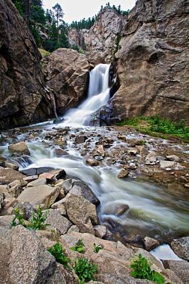 Photograph - Boulder Falls by John Daly