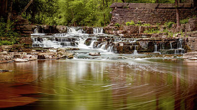 Photograph - Waterfall by Dave Chandre