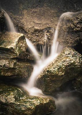 Digital Art - Waterfall Detail  by Scott Meyer