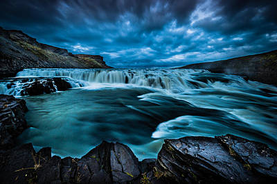 Photograph - Waterfall Drama by Chris McKenna