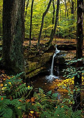 By Jackie Photograph - Waterfall Dreaming by Jackie Sajewski