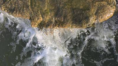 Photograph - Waterfall Edge by Nathan Little