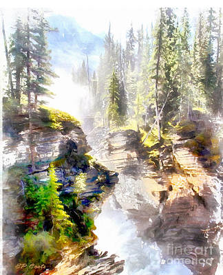 Painting - Waterfall by Elizabeth Coats