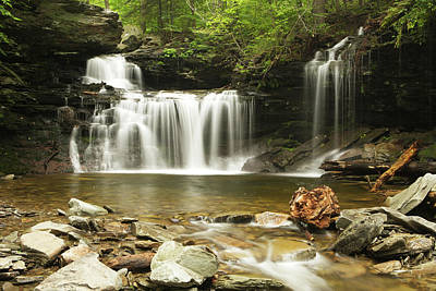 Photograph - Waterfall by Eric Foltz
