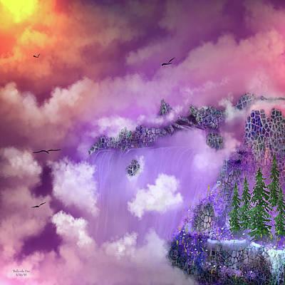 Digital Art - Waterfall Fantasy by Artful Oasis